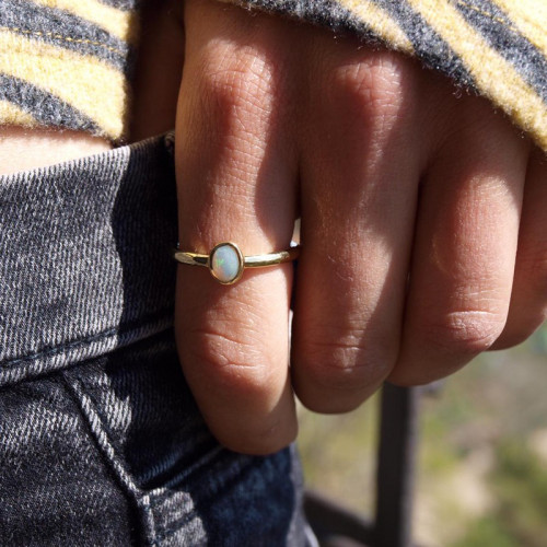 OPAL CLIMENT 1890 RING - CLIMENT