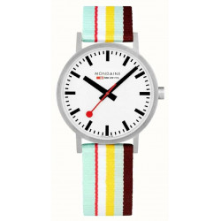 STRIPES SBB CLASSIC MONDAINE WATCH - M6603036016SBK