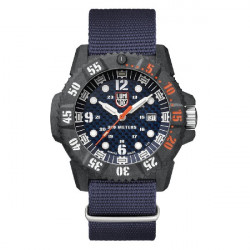 CARBON SEAL BLUE DIAL NATO BLUE - 3803C