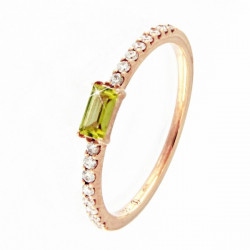 ANELL OR ROSA BR + PERIDOT - R4641MP201