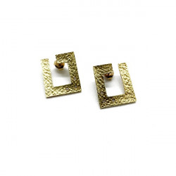 CUBE CLIMENT 1890 EARRINGS - B-2504/BR