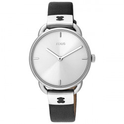 LET LEATHER STEEL TOUS WATCH - 000351465