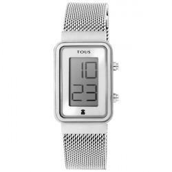 DIGISQUARED MESH STEEL TOUS WATCH - 000351520