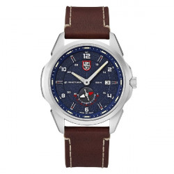 ATACAMA ADVENTURER BLUE DIAL LEATHER - 1763