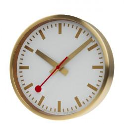 GOLDED WALL CLOCK MONDAINE SBB - M990CLOCK17SBG
