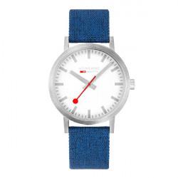SILVER BLUE CLASSIC SBB MONDAINE WATCH - M6603036017SBD