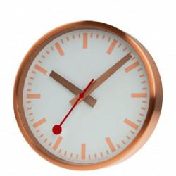 ROSE GOLD WALL CLOCK MONDAINE SBB - M990CLOCK17SBK