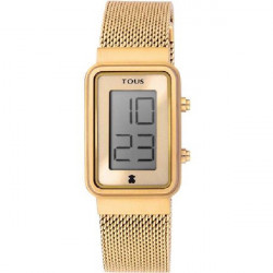 DIGISQUARED MESH GOLD TOUS WATCH - 000351525