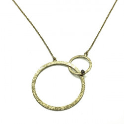 COLLARET TOP SILVER CERCLES - CO6388PX