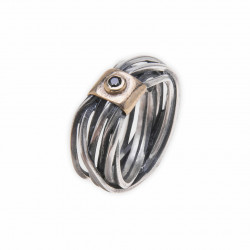 ANILLO PLATADEPALO MAN - MR002X - MR002X