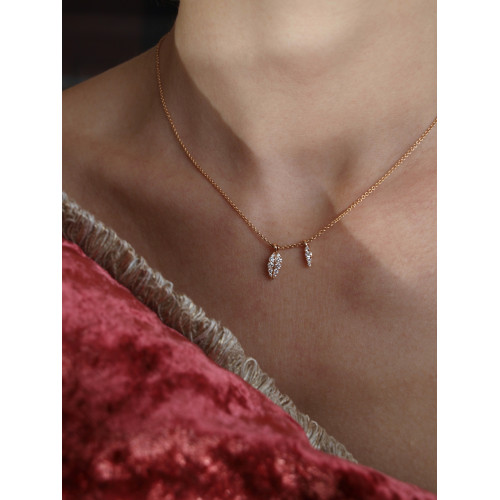 LEAVES ROCA NECKLACE - C3007B
