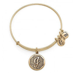 LETTER II PENDAND ALEX AND ANI BRACELET GOLD COLORED - A13EB14IG