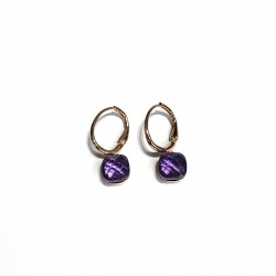 PURPLE DI PIU EARRINGS