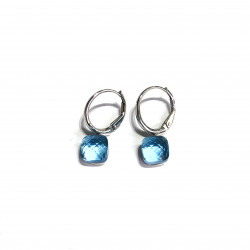 DI PIU BLUE EARRINGS