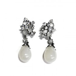 LINEARGENT EARRINGS - 14503-A