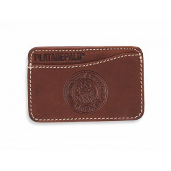 LEATHER PLATADEPALO CARD - ACC71