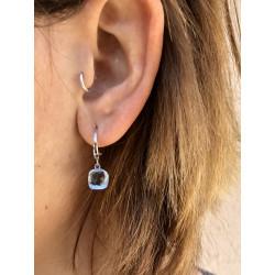 DI PIU BLUE EARRINGS