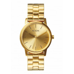 NIXON SMALL KENSINGTON GOLD COLORED WATCH - A36150 - A361502