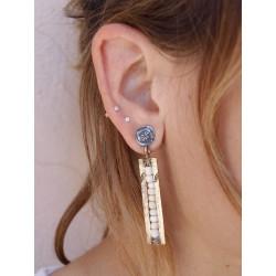 PLATADEPALO EARRINGS - WE102B