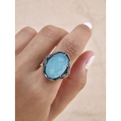 SUNFIELD RING CHALCEDONY - AN061820/13