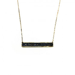 LINEARGENT NECKLACE - 14826-N-PE