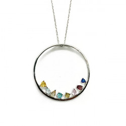 LINEARGENT NECKLACE - 18504-PE