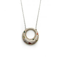 LINEARGENT NECKLACE - 18374-PE