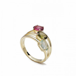 ANILLO LINEARGENT COLORES - 17337-G-R