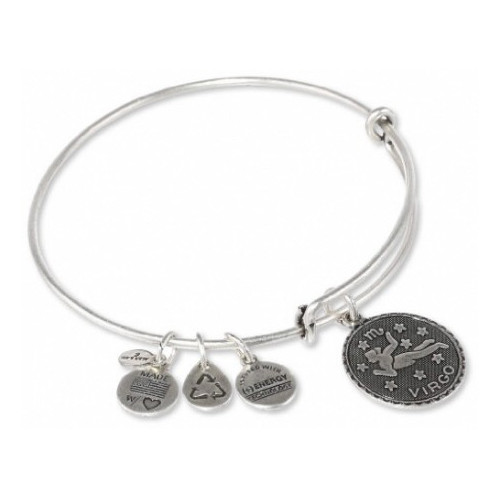 ALEX AND ANI BRACELET SILVER COLORED WITH VIRGO PENDANT - A07EB40VIRS